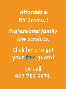 NY affordable divorce free quote